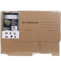 Get Organized - Portable File Storage Box With Flip Top Lid - Office Supply Organization, Storage Organization, Gold Office Decor, Simple Closet, Another A, Storage Boxes, Getting Organized, Dollar Stores, Videos