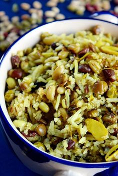 <3 Protein Packed Three Bean Rice Pilaf