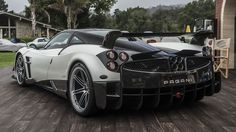 Pagani brings the ultimate version of the Huayra, the Huayra BC, to Pebble Beach for its first appearance on American soil. Pagani Huayra Bc, Ferrari F40, Lamborghini Gallardo, Super Sport Cars, Pebble Beach, Amazing Cars, Hot Cars, Exotic Cars, Motor Car