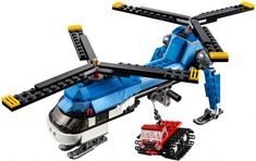 Vrtuľník s dvoma vrtuľami Twin Spin, Lego Helicopter, Lego Creator, Lego Sets, Nerf, Twins, Arrow Keys, Close Image, Vehicles