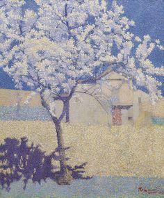 Achille Laugé (1861-1944), L'Arbre en Fleurs - 1893