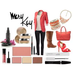 I am a mary kay consultant and this is what i would wear to a meeting or to meet a costumer. Makeup For Moms, Love Makeup, Makeup Looks, Mary Kay Ash, Mary Kay Quotes, Imagenes Mary Kay, Selling Mary Kay, Summer Outfits For Moms, Beauty Consultant
