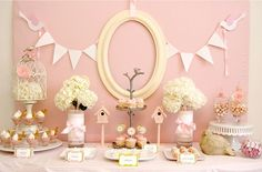 This site has so many great ideas for parties and decorating, check out this pink themed baby shower!
