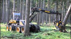 #Ponsse #Ergo8w #Harvester im Starkholz