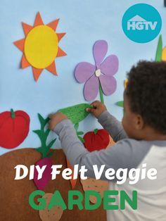 Watch: DIY Felt Veggie Board>> http://videos.hgtv.com/video/etc/sni-asset/hgtv/videos/0/02/026/0261/0261909.html?soc=pinterest