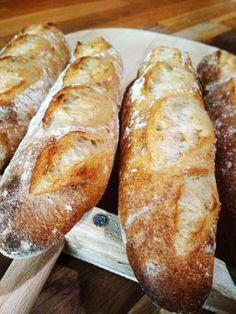 """Bagety """"Barunky"""" :: Svetzkvasku Bread And Pastries, Challah, Sourdough Bread, Bread Baking, Food Hacks, Sushi, Food And Drink, Cookies, Recipes"""
