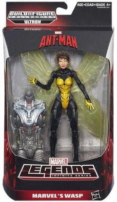 Hasbro Marvel Legends: Ant-Man - Marvels Wasp - Marvel Legends 6-inch figures, Marvel