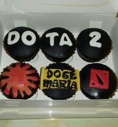 Cupcakes Dota 2. Maricarmen's cakes online Store. 991526566