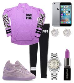 """*Nite ppl*"" by kodak-miyaaaa ❤ liked on Polyvore featuring Victoria's Secret, Smashbox, Rolex and River Island"