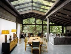 1953 California Ranch Style home located in Brentwood, CA was designed by architect Cliff May, creator of the modern California ranch-style home.