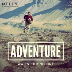 Go after your own adventure. Watch The Secret Life Of Walter Mitty this Christmas. #Mitty