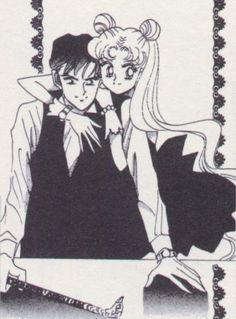 serena and darien | Serena and Darien. - fairies and vampires
