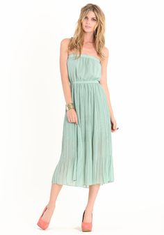 Super cute! Too bad my size is sold out. :(  Meet Cute Mint Dress 48.00 at threadsence.com