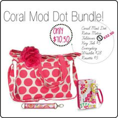 ONLY AVAILABLE IN MARCH!!!!!  Don't miss this adorable pattern!!www.mythirtyone.com/133165