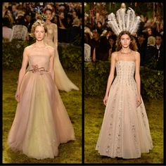 My favorites from Dior Spring 2017 Couture!