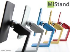 MiStand: Elegant Stand for iPhone, iPad & Android devices! by Mi — Kickstarter