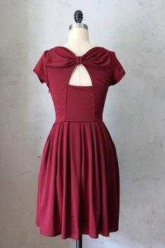 Holly Golightly Dress in Port