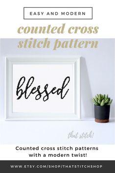 Crochet Ideas For Home Gift Cross Stitch Ideas Religious Cross Stitch Patterns, Funny Cross Stitch Patterns, Simple Cross Stitch, Easy Cross, Cross Stitch Fabric, Cross Stitching, Diy Wall, Wall Decor, Wall Art