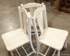 white-painted-distressed-chair