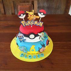 Resultado de imagen para torta de pokemon