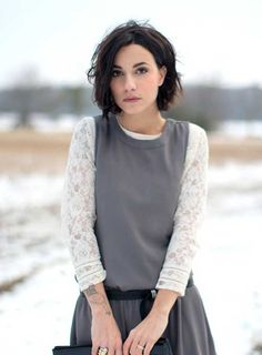messy bob hair cut | ... haircuts and messy hairstyles are most popular and trendy among girls