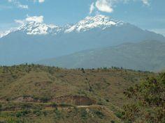 Vista de La Sierra Nevada desde LLANO SECO