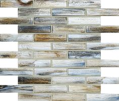 Shimmer Abalone 1x4 - I use this product all the time and love it - has very nice natural / organic colors - just a little art for the neutral materials. Great as kitchen backsplash and behind stove