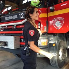 Knowing who you are is one thing, but truly living as yourself is another. Don't loose yourself out there. In this crazy society that's trying to make you like everyone else -stay true to your awesome self! Good to be back at work with my awesome crew #femalefirefighter #mondaymotivation #staytruetoyou