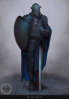 Laureled Knight by Afrocream on DeviantArt