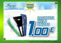 Oferta especial Rasqueta hielo de varios colores - Navidad 2013 (del 24 de noviembre al 24 de Diciembre). Más info en www.aurgi.com