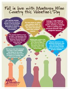 Fall in love with Monterey Wine Country this Valentine's Day - so much to do!