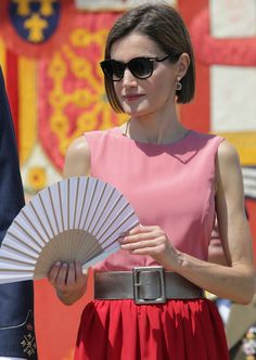 Queen Letizia of Spain attends the delivery of actual employment office at General Air Force Academy on July 14, 2015 in San Javier, Murcia, Spain.