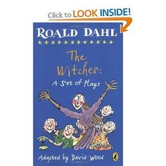 Another favorite as a child!  I loved Roald Dahl books!