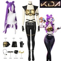 Lol Kda Akali Sword Weapons Cosplay Costume Props Accessories Sickle And Dagger Set Distinctive For Its Traditional Properties Novelty & Special Use