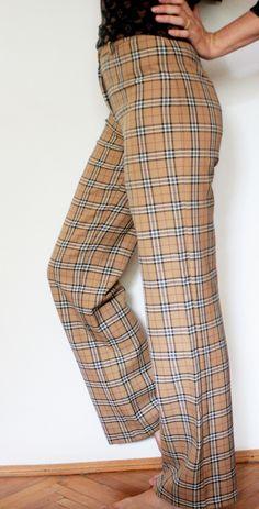 Pantaloni vintage cu imprimeul in carouri Suits, Vintage, Fashion, Moda, Fashion Styles, Suit, Vintage Comics, Wedding Suits, Fashion Illustrations