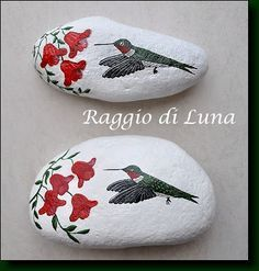 Raggio di Luna Painted Rocks: March 2012