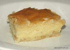 Greek Galaktoboureko #dessert