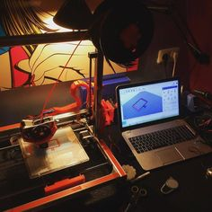 Awesome shot of a modified Velleman #K8200 printer in action from @thijstigelaar! _______________ #velleman #vellemank8200 #3dprinter #3dprinted #3dprint #3dprinting #computer #maker #make #printing #3d #filament #vellemanstore #vellemanusa