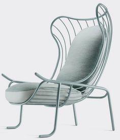 Harp Inspired Sculptural Armchair by Jaime Hayon - http://freshome.com/2011/05/27/harp-inspired-sculptural-armchair-by-jaime-hayon/