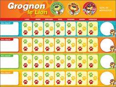 Éditions Midi trente - Grognon, le Lion Lion, Activities For Kids, Periodic Table, Positivity, Teaching, Education, Parents, Images, Cinema