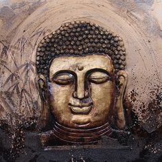 Buddha Canvas Painting with HD Resolution