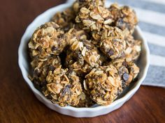 Cuckoo for Chia: Chocolate-Peanut Butter Energy Balls | Speed up your breakfast tomorrow when you roll a batch of these energy balls tonight.