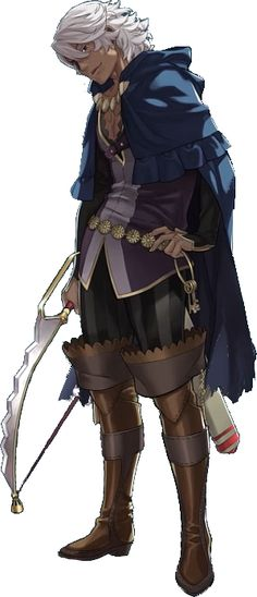 Officials Art of FE Fates Niles {Debuted from Fire Emblem Nintendo Direct}