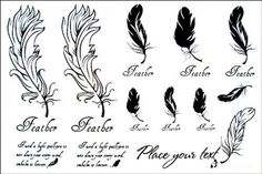 Tattoo size 6.30x6.30 Long last temporary tattoo non-toxic and waterproof female models black and white feathers totem realistic temporary tattoo sticker by Wonbeauty. Safe and non-toxic design ideal for body art. Professional grade made to last 3 to 5 days and easily transferred by water. Perfect for vacations, girls night, pool parties, bachelorette parties, or any other event you want to look glamorous.