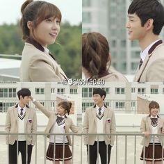 Sassy Go Go Lee Won Geun, Sassy Go Go, Asian Fever, Uniform Ideas, Drama Film, Korean Dramas, Cheer Up, School Uniform, Tv Series