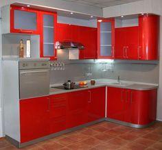 Фото маленьких кутових кухонь