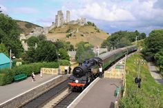 Take the Swanage Railway throught the english countryside from Corfe to Swanage