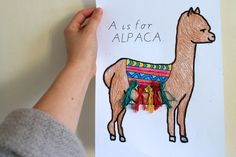 alpaca craft for kids fun and cute project paper plate crafts