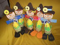 Ensinando com Carinho: Festa Junina - Dicas Autumn Crafts, Thanksgiving Crafts, Lake Cake, Scarecrow Crafts, Scarecrows, Halloween, Autumn Theme, Writing Activities, Art Education