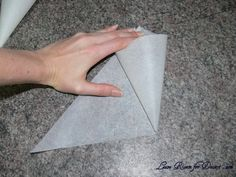 How to make cones for Semifreddo